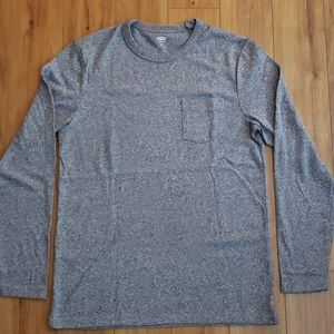 Old Navy Knit Long Sleeve Pocket Tee
